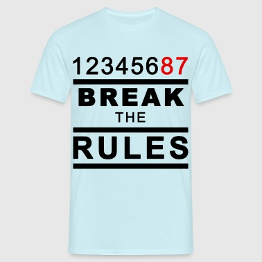 Break the Rules 3 - Männer T-Shirt