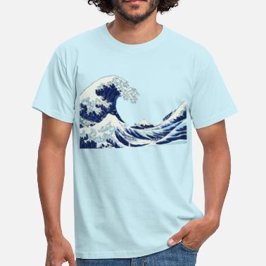 Wave big Wave - Herre-T-shirt