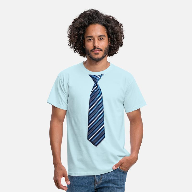 Bbq T-Shirts - tie 3 - Men's T-Shirt sky