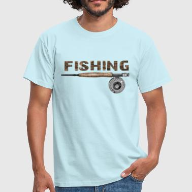 Fishing - Mannen T-shirt