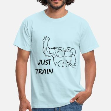 Equilibre Just Train - Men's T-Shirt