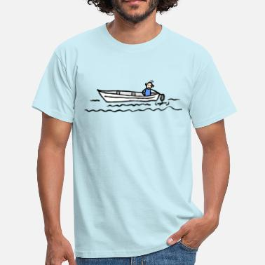 Motor Boat Sport boat Water sports Motor boat - Men's T-Shirt
