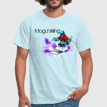 Mogul skiing - Men's T-Shirt