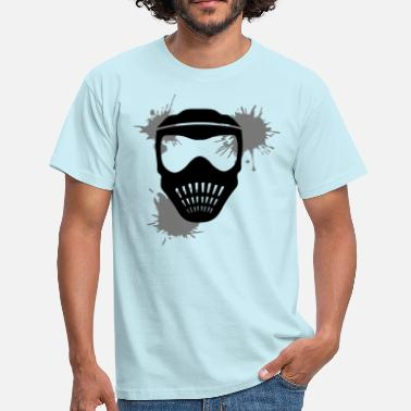 Helmi drop graffiti klex color mask helmet weapon goals - Men's T-Shirt