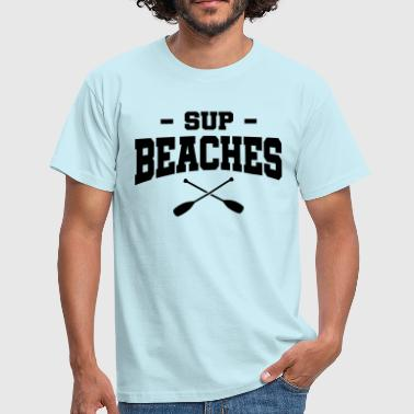 SUP Beachers Paddle - T-shirt Homme