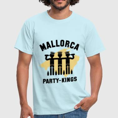 Mallorca Party-Kings (Partyurlaub / 2C) - Men's T-Shirt