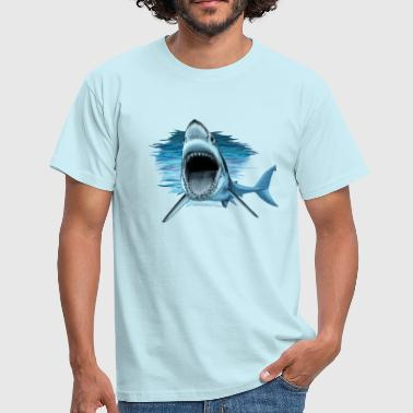shark - T-shirt Homme