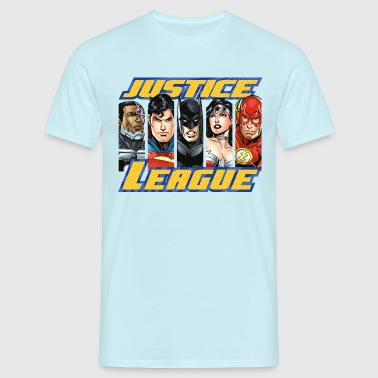 DC Comics Justice League Group Picture - Mannen T-shirt