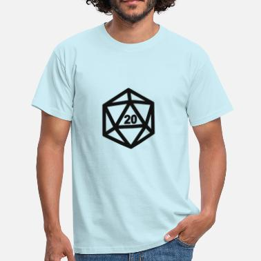 Jdr RPG Dice 20 - T-shirt Homme