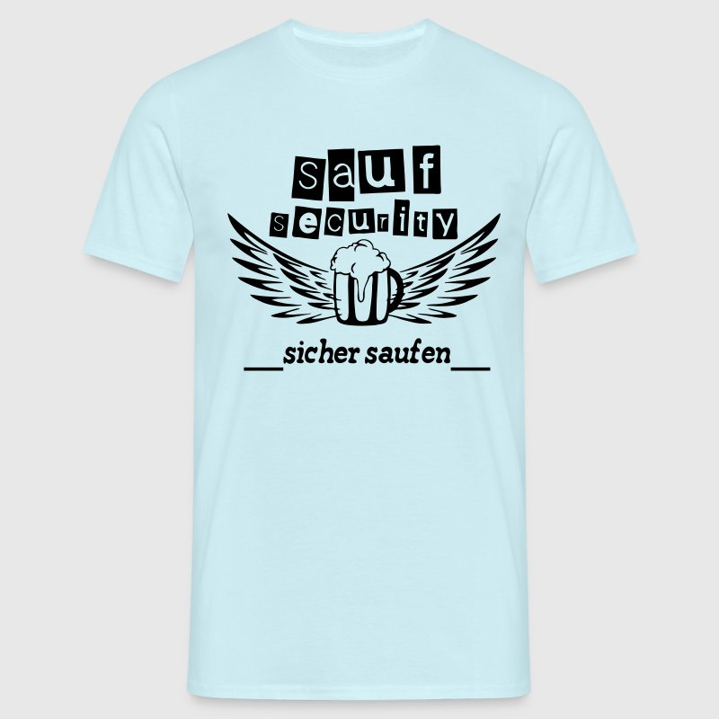 Sauf Security - Männer T-Shirt