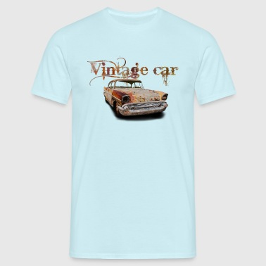 vintage car - T-shirt herr