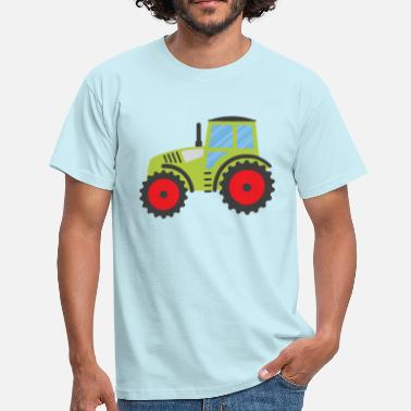 Claas Green Tractor - Men's T-Shirt
