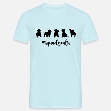 c14d06634 Squad Goals Squad Goals Puppy - Men's T-Shirt