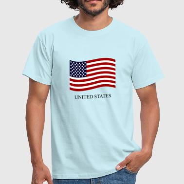 United States flag - Herre-T-shirt