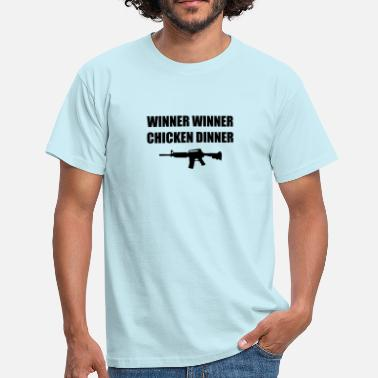 Dinner Winner Winner Chicken Dinner! - Camiseta hombre