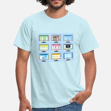 Screen screen - Men's T-Shirt