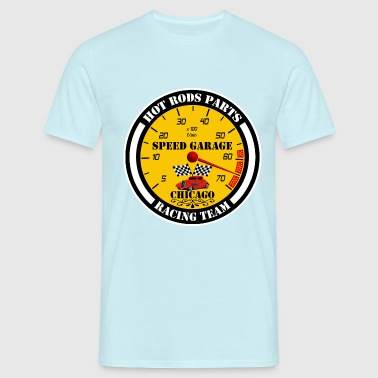 Hot Rods Racing Parts - T-shirt Homme