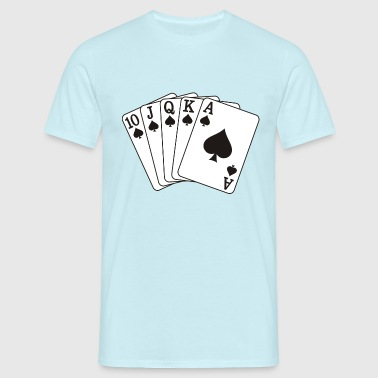 Royal flush - Herre-T-shirt