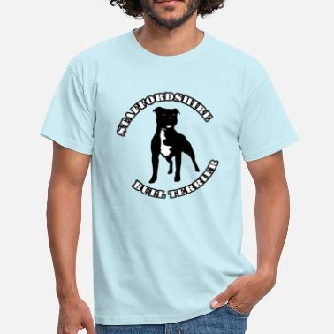 Staffordshire Staffordshire Bull Terrier - T-shirt Homme