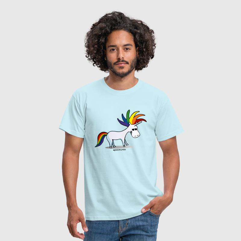 Punk Unicorn, Punky Unicorn - Mannen T-shirt