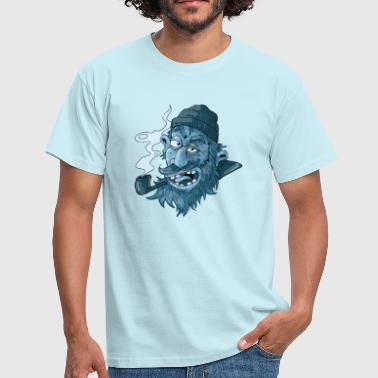 Salty Sailor - Herre-T-shirt