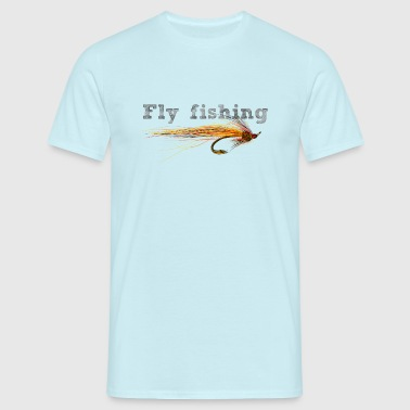fly fishing hook - Camiseta hombre