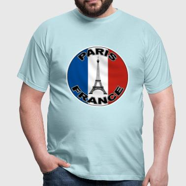 France logo tricolore 9 - T-shirt Homme