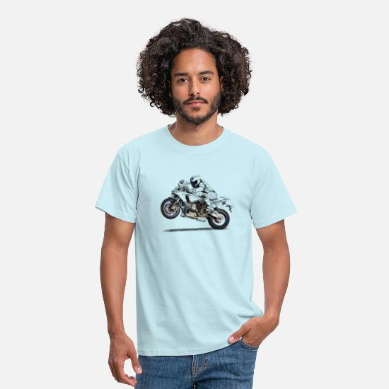 Motorcycle T-Shirts - Motorcycle - Men's T-Shirt sky