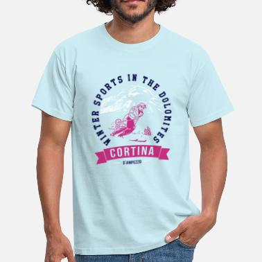 Dolomiti CORTINA - Men's T-Shirt