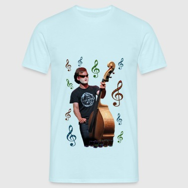 Musician playing cello - T-shirt Homme