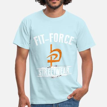Fit-Force Design3 - Herre-T-shirt
