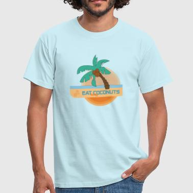 Eat More Coconuts - Männer T-Shirt