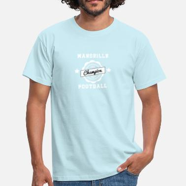 Vintage Foot Marseille foot  - T-shirt Homme