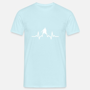 My Heart Beats For Basketball My heart beats for Basketball - Men's T-Shirt