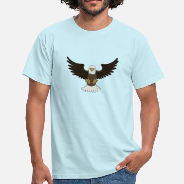 Bald Eagle Bald Eagle - T-skjorte for menn