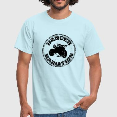 Streetfighter Biker Danger Rayonnement - T-shirt Homme