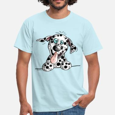 Dalmatian Cute Dalmatian - Men's T-Shirt