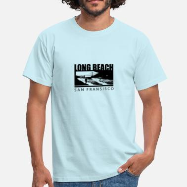 Long Beach Long Beach San Francisco - T-skjorte for menn