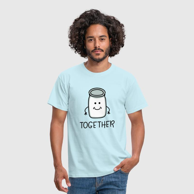 Better Together Partnerlook (Part2) Milk melk - Mannen T-shirt