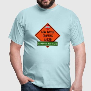 crossing jordan ahead de - Männer T-Shirt