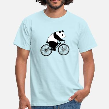Panda Vélo Panda Bicycle - T-shirt Homme