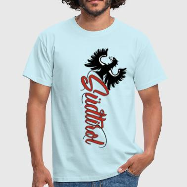 South Tyrolean South Tyrol eagle with beautiful lettering - Men's T-Shirt