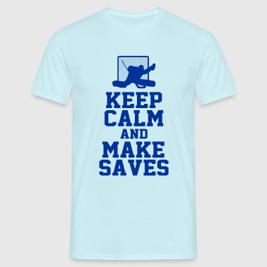 hockey goalie - Männer T-Shirt