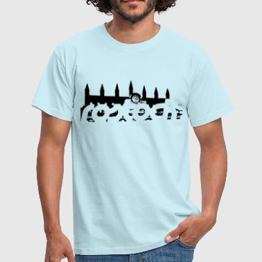 Rostock, Rostock Town Hall - Men's T-Shirt