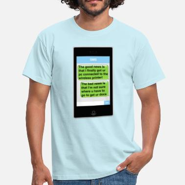 Sms  SMS - Printer - Men's T-Shirt