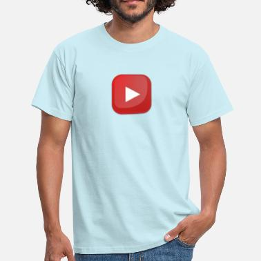 Youtube Youtube botton - Herre-T-shirt