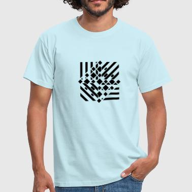Tattoo Abstract an abstract graphic tattoo pattern - Men's T-Shirt