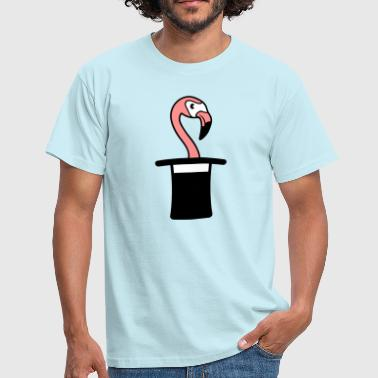 Cylinder hat wizard trick magic trick magician mag - Men's T-Shirt