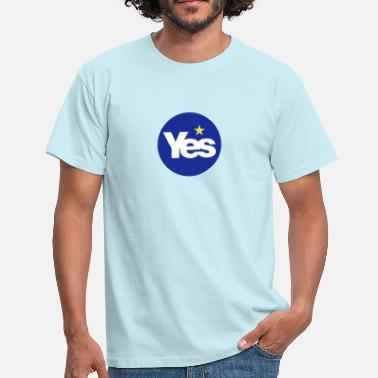 Indy YES to Scottish Independence ( Scotref  )  - Men's T-Shirt