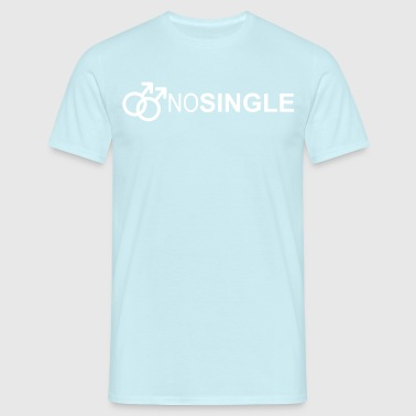NO SINGLE - T-shirt Homme